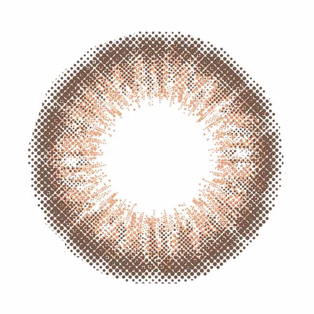 アイジェニック (EYE GENIC)シマーショコラのレンズ画像
