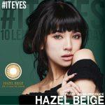 藤田杏奈プロデュースの本格的リアルハーフカラコン「IT EYES (#イットアイズ)」ヘーゼルベージュに度ありが追加登場!
