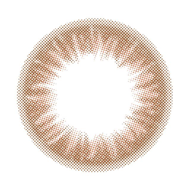 ジューシードロップ(アプリコット)レンズ画像