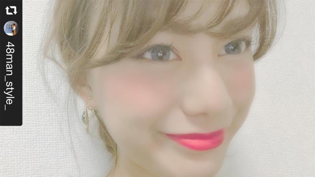 【カラコンレポ】SEA BLINK(マーメイド)をモデルがレポート!派手めのリップカラーに合うカラコン!