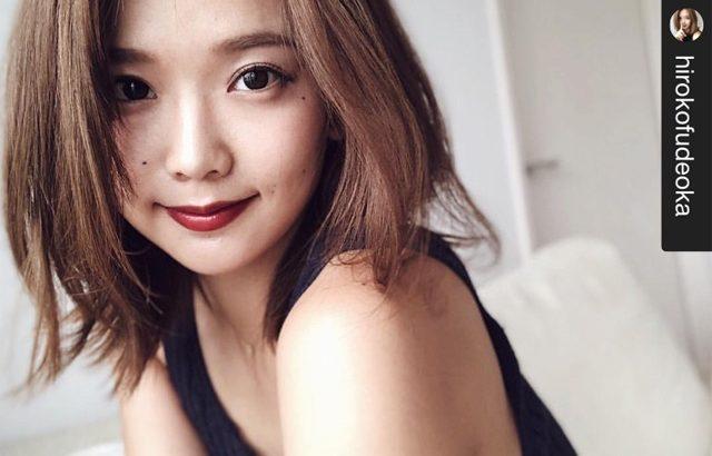 モデル筆岡裕子さん愛用ディファインカラコンレポ