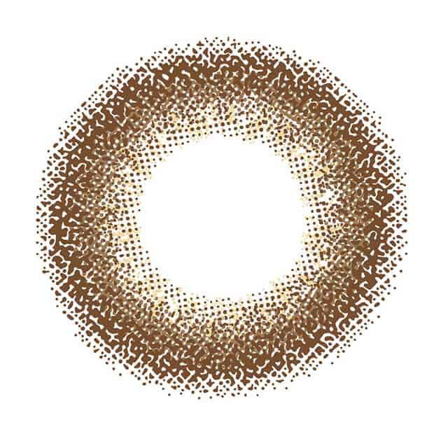 アイディクト(EYEDDiCT)バーガンディーロストのレンズ画像