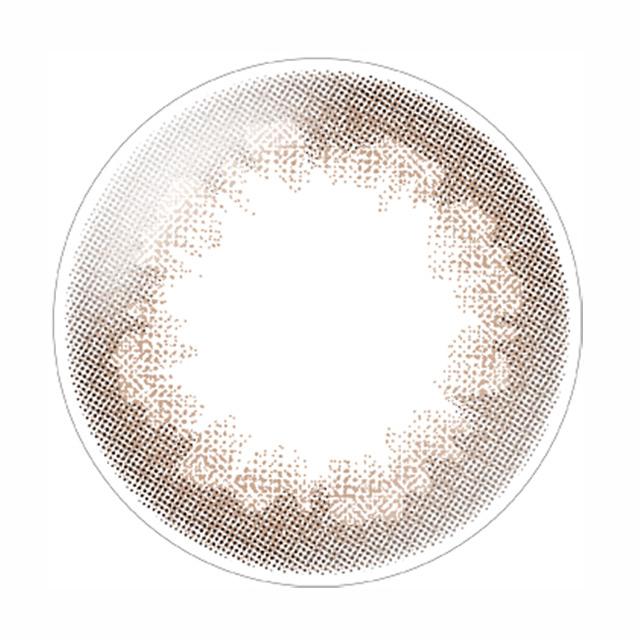 デコラティブアイズ ヴェール(コーラルブルーム)レンズ画像