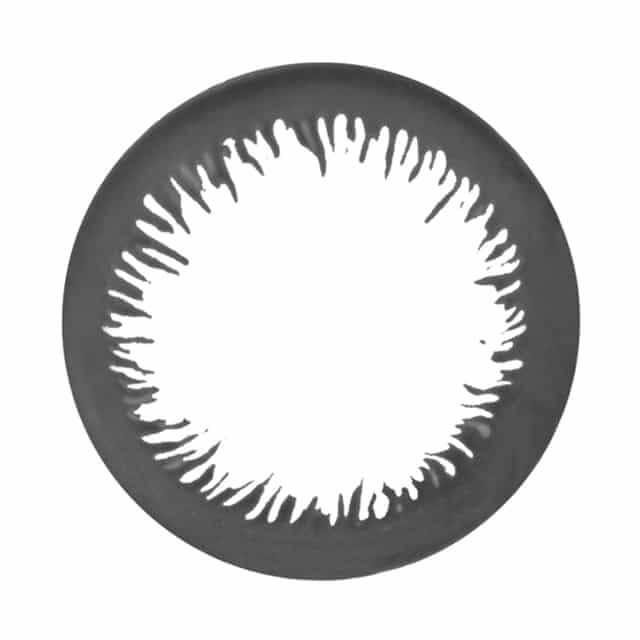 エンジェルアイズワンデー アクセントブラックのレンズ画像