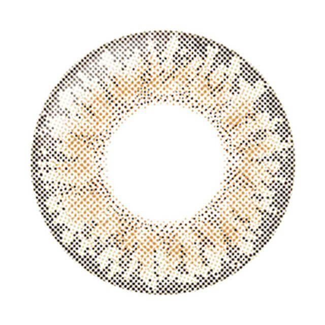 クリームベージュのレンズ画像