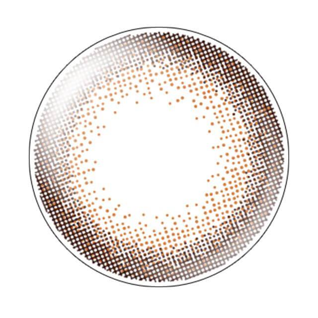 エバーカラーワンデーモイストレーベル スウィートリュクスのレンズ画像