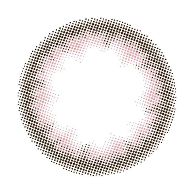 Acorde(アコルデ)デイリーベーシックブラウンのレンズ画像