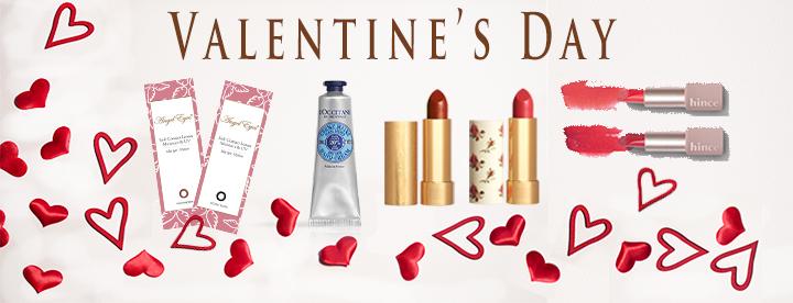 バレンタイン、人気コスメとカラコンの限定セット