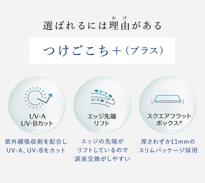 1DAY Refrear シリコーン UV Wモイスチャーの特徴