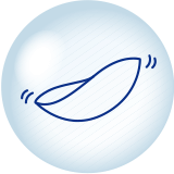ワンデーアキュビューモイストの特徴 - 刺激が少ない