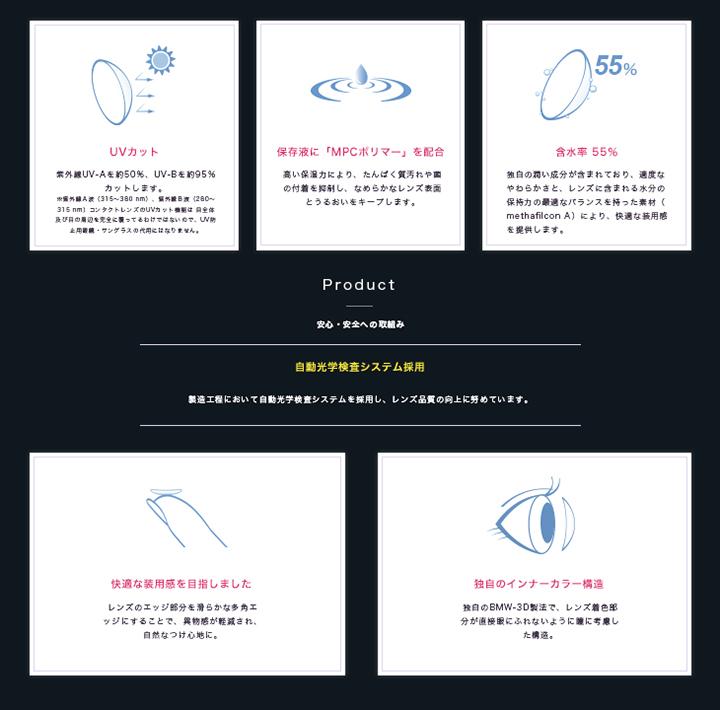 黒木メイサがイメージモデルのGIVRE TOKYO Sparkle 1dayの特長