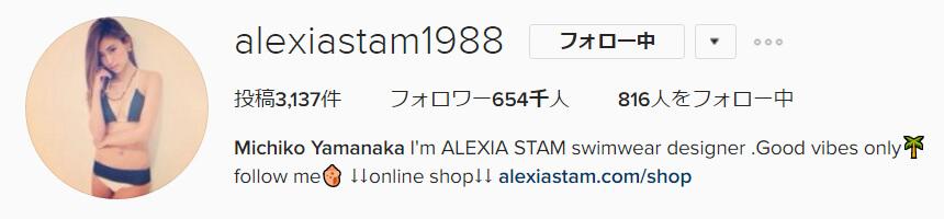 山中美智子instagram