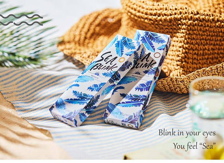 SEA BLINK 1day(シーブリンクワンデー)新発売