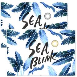 山中美智子プロデュースカラコン SEA BLINKのパッケージ