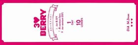 UVカット付きカラコン - 3 LOVE BERRY(スリーラブベリー)